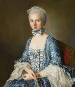 Portrait of a Lady | Antoine Vestier | Oil Painting