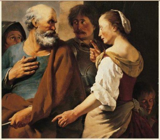 The Denial of Saint Peter | Carel Dujardin | Oil Painting