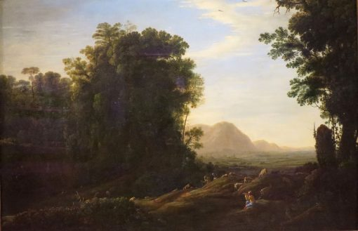 Landscape with a Piping Shepherd | Claude Lorrain | Oil Painting