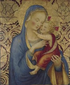 Madonna and Child | Fra Angelico | Oil Painting