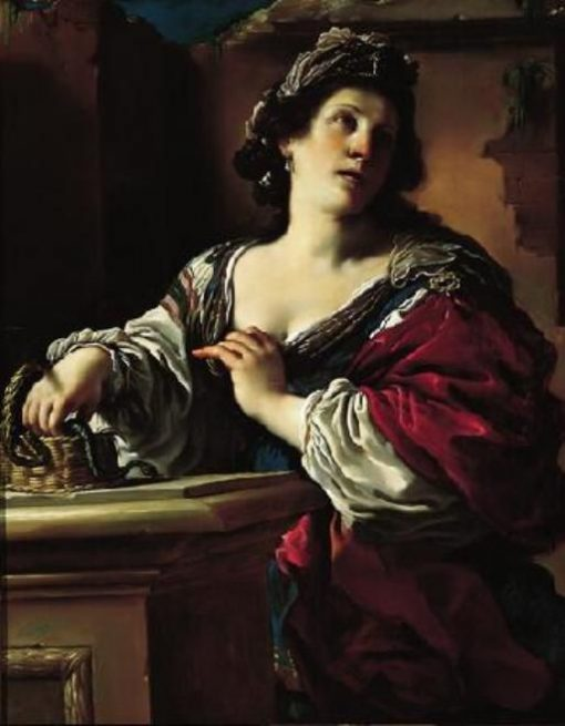 Suicide of Cleopatra | Guercino | Oil Painting