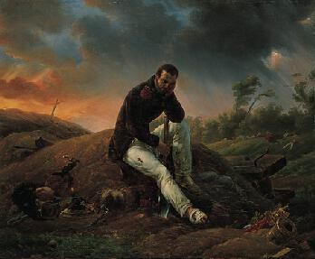 A Soldier on the Field of Battle | Horace Vernet | Oil Painting