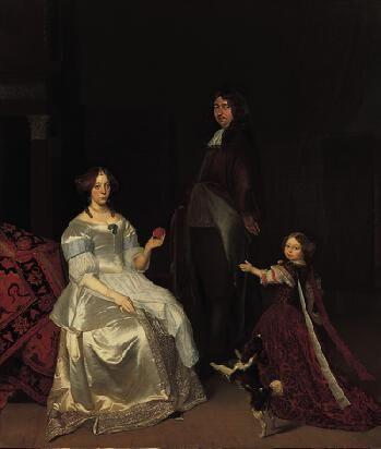 Family Portrait | Jacob Ochtervelt | Oil Painting