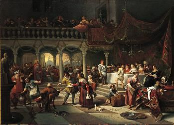 Marriage at Cana | Jan Havicksz. Steen | Oil Painting