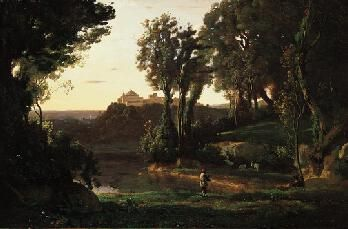 A Site in Italy | Jean Baptiste Camille Corot | Oil Painting