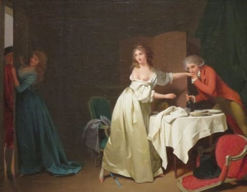 Interrupted Supper | Louis LEopold Boilly | Oil Painting