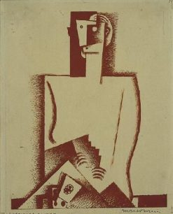 The Card Player | Louis Marcoussis | Oil Painting