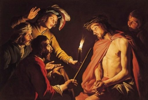 Christ Crowned with Thorns | Matthias Stomer | Oil Painting