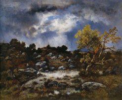 The Approaching Storm | Narcisse Dìaz de la Peña | Oil Painting