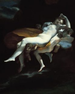 The Abduction of Psyche by Zephyrus to the Palace of Eros | Pierre Paul Prud'hon | Oil Painting