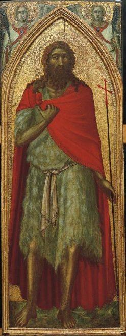 Saint John the Baptist | Pietro Lorenzetti | Oil Painting