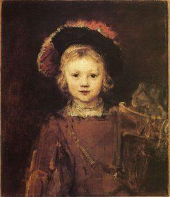 Portrait of a Young Boy (Titus?) | Rembrandt van Rijn | Oil Painting