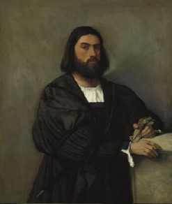 Portrait of a Man | Titian | Oil Painting