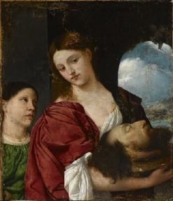 Salome with the Head of John the Baptist | Titian | Oil Painting