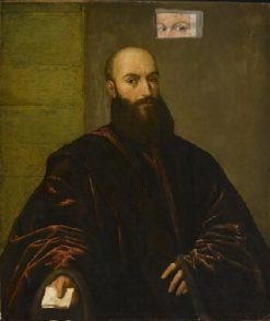 A Venetian Nobleman | Titian | Oil Painting