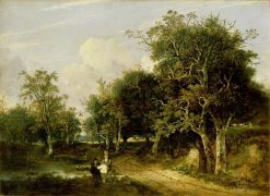 Grove Scene | John Crome | Oil Painting