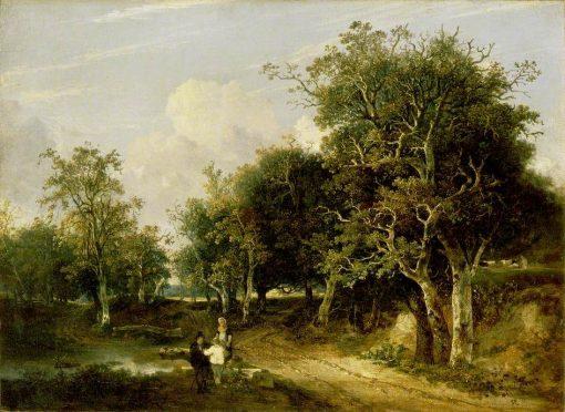Grove Scene | John Crome | Oil Painting