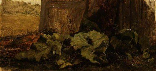 Dock Leaves   John Crome   Oil Painting