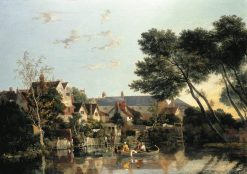 Norwich River: Afternoon | John Crome | Oil Painting