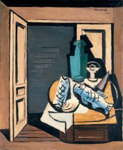 The Open Door | Louis Marcoussis | Oil Painting