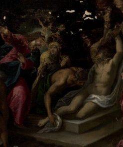 The Raising of Lazarus   Jacopo Bassano   Oil Painting