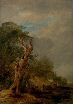 The Withered Tree | William Collins | Oil Painting