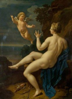 Venus and Cupid | Adriaen van der Werff | Oil Painting