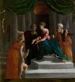 The Christ Child Learning to Walk(also known as The Presentation in the Temple) | Dosso Dossi | Oil Painting