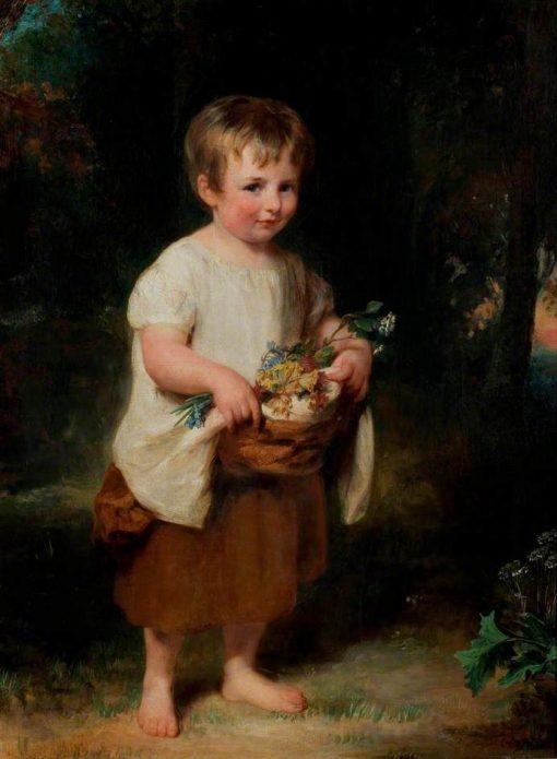 A Spring Nosegay | Margaret Sarah Carpenter | Oil Painting