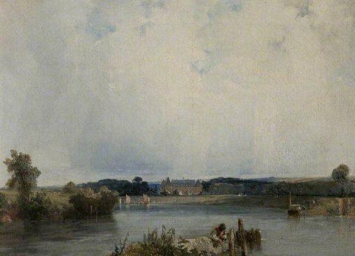 Le Chateau de la Duchesse de Berry   Richard Parkes Bonington   Oil Painting