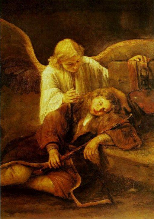 Jacob's Dream   Aert de Gelder   Oil Painting