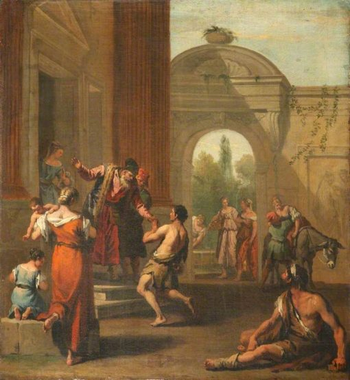 The Return of the Prodigal Son   Sebastiano Ricci   Oil Painting