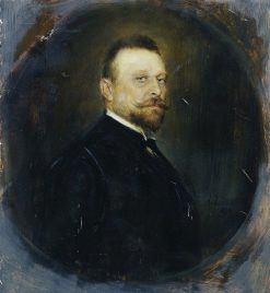 The Reichstag deputy Dr. Joseph Maria Baernreither | Franz von Lenbach | Oil Painting