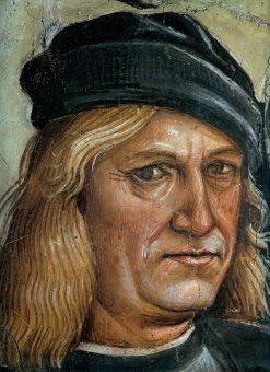 Self Portrait taken from Sermon and Deeds of the Antichrist | Luca Signorelli | Oil Painting