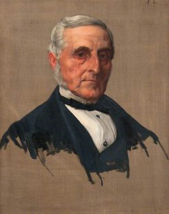 Portrait of a Gentleman | Alphonse Legros | Oil Painting