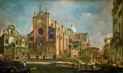 Campo di Giovanni e Paolo with the Church of San Marco