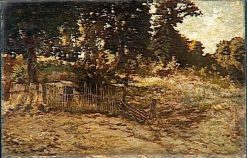 Paysage a la Palissade | Adolphe Joseph Thomas Monticelli | Oil Painting