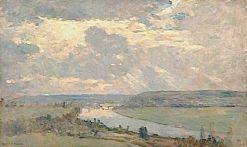 The Seine Valley near Oissel   Albert Lebourg   Oil Painting