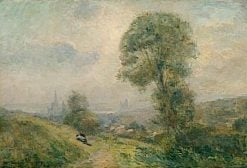 View of Rouen from Mont Gargan | Albert Lebourg | Oil Painting