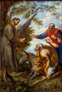 The Miracle of the Mule | Anthony van Dyck | Oil Painting