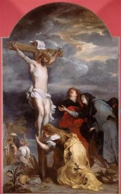 Christ on the Cross | Anthony van Dyck | Oil Painting
