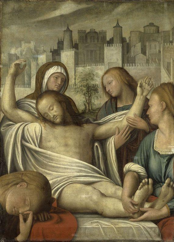 Pieta   Bramantino   Oil Painting