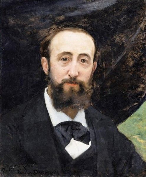 Portrait of Jules Claretie (1840-1913) | Charles Auguste Emile Durand | Oil Painting