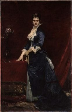 Portrait of Madame Georges Petit | Charles Auguste Emile Durand | Oil Painting
