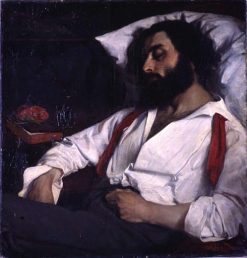 Sleeping Man | Charles Auguste Emile Durand | Oil Painting