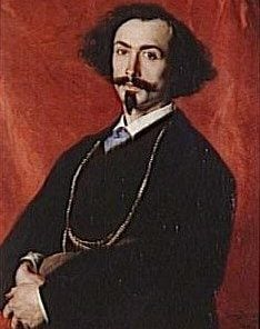Portrait of Spanish Painter Moreno | Charles Auguste Emile Durand | Oil Painting
