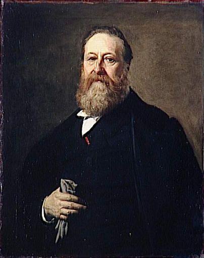 Portrait of Edouard Reynart | Charles Auguste Emile Durand | Oil Painting