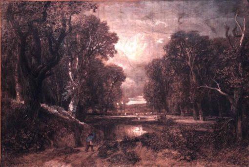 Paysage (Landscape) | Constant Troyon | Oil Painting