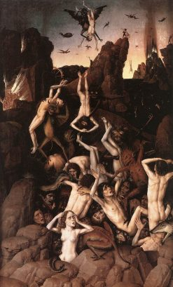 The Fall into Hell | Dieric Bouts | Oil Painting