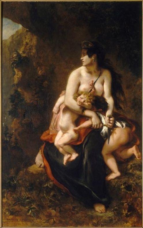 Medée | Eugene Delacroix | Oil Painting
